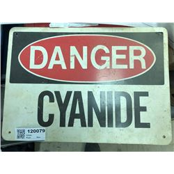 Cyanide Sign  (120079)