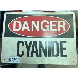 Cyanide Sign  (120079)