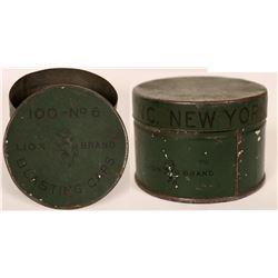 Rare Lion Brand No. 6 Blasting Cap Tin  (116147)
