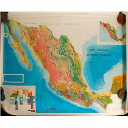 Large Mexico Geological Maps (5)  (86476)