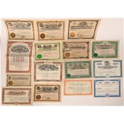 Prescott, Arizona Mining Stock Certificate Collection  (107533)