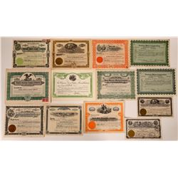 Yuma County, Arizona Mining Stock Certificate Collection  (107528)