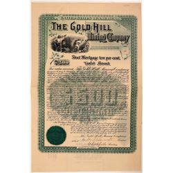 Gold Hill Mining Company Bond  (107876)