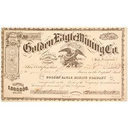 Golden Eagle Mining Company Stock  (80425)