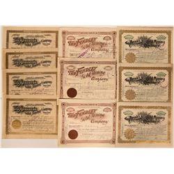 Cripple Creek, Colo., Mining Stock Certificates  (118051)