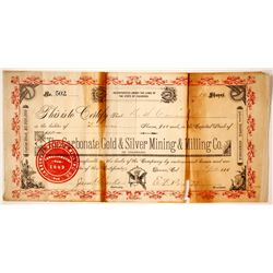 Carbonate Gold & Silver Mining & Milling Company Stock  (80578)