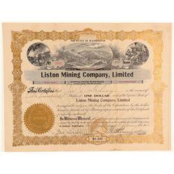 Liston Mining Company, Limited  (101461)