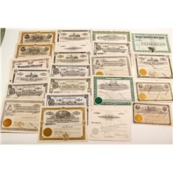 Idaho Mining Stock Collection (22)  (90314)