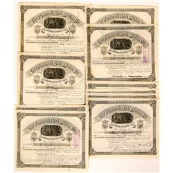 Plymouth Rock Mining Co. Stock Certificates  (117508)