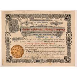 Bullfrog Pedestal Mining Co. Stock, Bullfrog, Nevada, 1905  (111973)