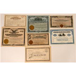 Bullfrog, Nevada Stock Certificate- Group 1  (110057)