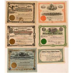 Bullfrog, Nevada Stock Certificates- Group 3  (110059)