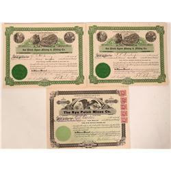 Three Mining Stocks from Rye Patch, Nevada  (110140)