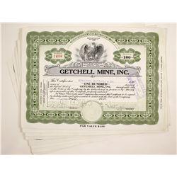 Getchell Mine Stocks (7)  (79340)