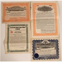 Ludwig, Nevada Stock and Bond Collection  (110077)