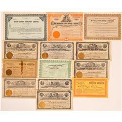 Manhattan Stock Certificate Group #2 (13)  (111663)