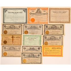 Manhattan Stock Certificate Group #2 (13)  (111663)