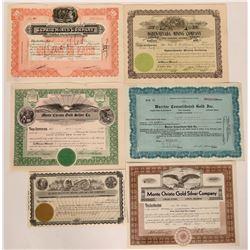 Six Mining Stocks from Nye County, Nevada  (110144)