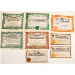 Tonopah Divide, NV Stock Collection (8)  (90577)