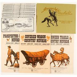Nevada Mining Stocks and Exploring Booklets  (65040)