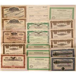 Utah Mining Stock Certificates Lot  (118853)