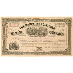 Rappahannock Gold Mining Co. Stock   (119408)