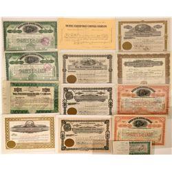 ID, MT U.S. States Mining Stock Certificates  (118850)