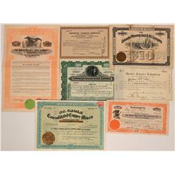 Mining Stocks Various States  (116995)