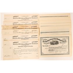 Unissued Mining Stock Certificates from Chicago & Colorado Territory  (117361)