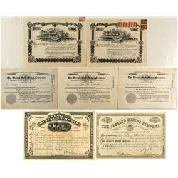 Western Mining Stock Certificates  (571608)