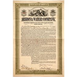 Arizona Water Company Bond  (86026)