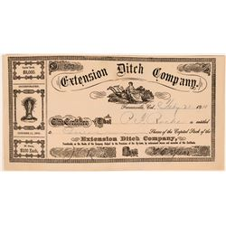 Extension Ditch Company Stock (119421)