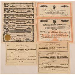 Hawaiian Stock Certificates  (115884)