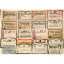 A Bevy of Industrial Stock Certificates  (118846)