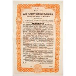 Apache Railroad Co Bond  (83219)