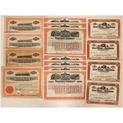 Fifteen Oakland Railroad Stock Certificates  (117233)