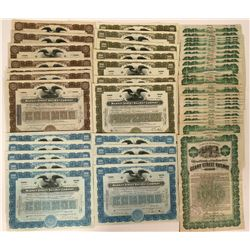 Seventy eight San Francisco Railroad Stock Certificates and Bonds  (117234)