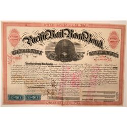 Western Pacific Railroad Bond  (115899)