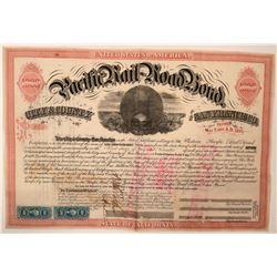 Western Pacific Railroad Bond  (115899)
