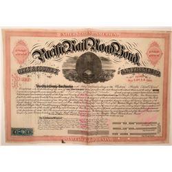 Western Pacific Railroad Bond  (115898)
