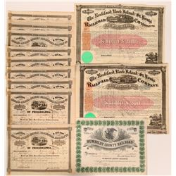Railroad Stocks Collection  (117845)