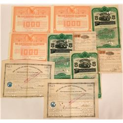 Connecticut Railroad Bonds (4) & Stocks (7)  (115927)
