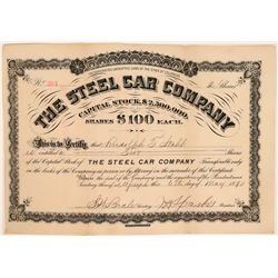 """The Steel Car Company"" Stock  (119423)"