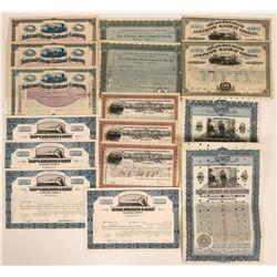 Collection of Illinois Rail stocks  (117529)