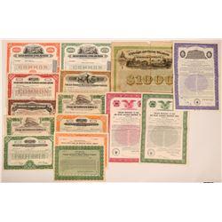 Group of Chicago Rail Stocks (15)  (111672)
