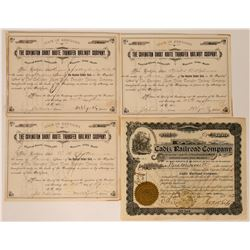 Kentucky Railroad Stock Certs  (117222)