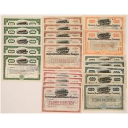 Boston Elevated Railway Stock Certs  (117211)
