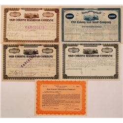 Old Colony Railroad Co. bonds/stock  (110993)