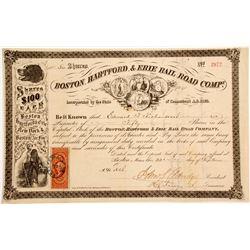 Boston, Hartford, & Erie Rail Road Company  (83124)