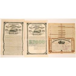 Flint and Pere Marquette Railroad Company Stocks and Bonds  (117504)